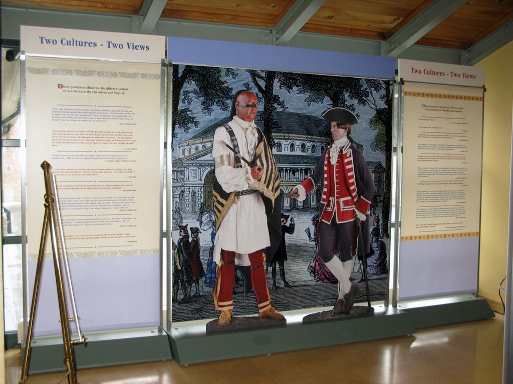 Museum of the Cherokee Indian Emissaries of Peace - 250th Anniversary Traveling Exhibition Fort Necessity National Battlefield