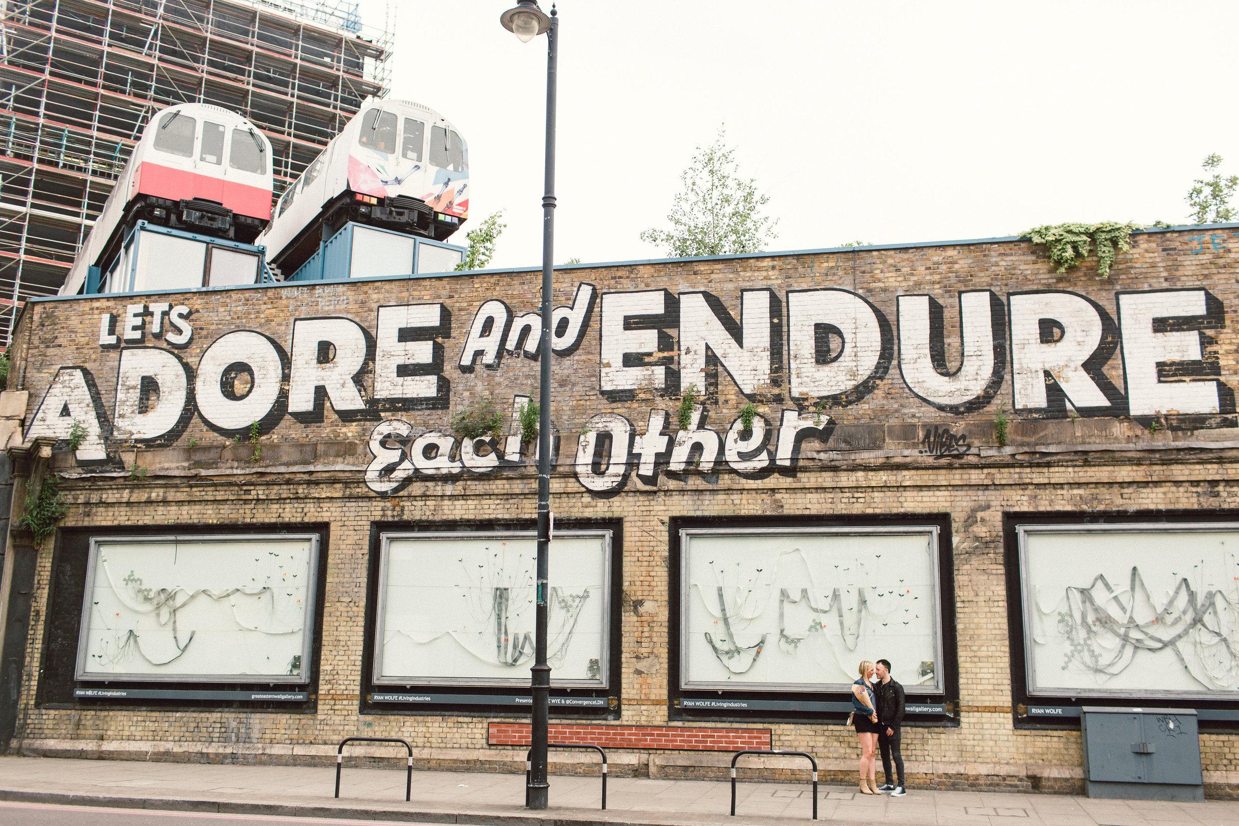 Shoreditch Engagement Shoot, London