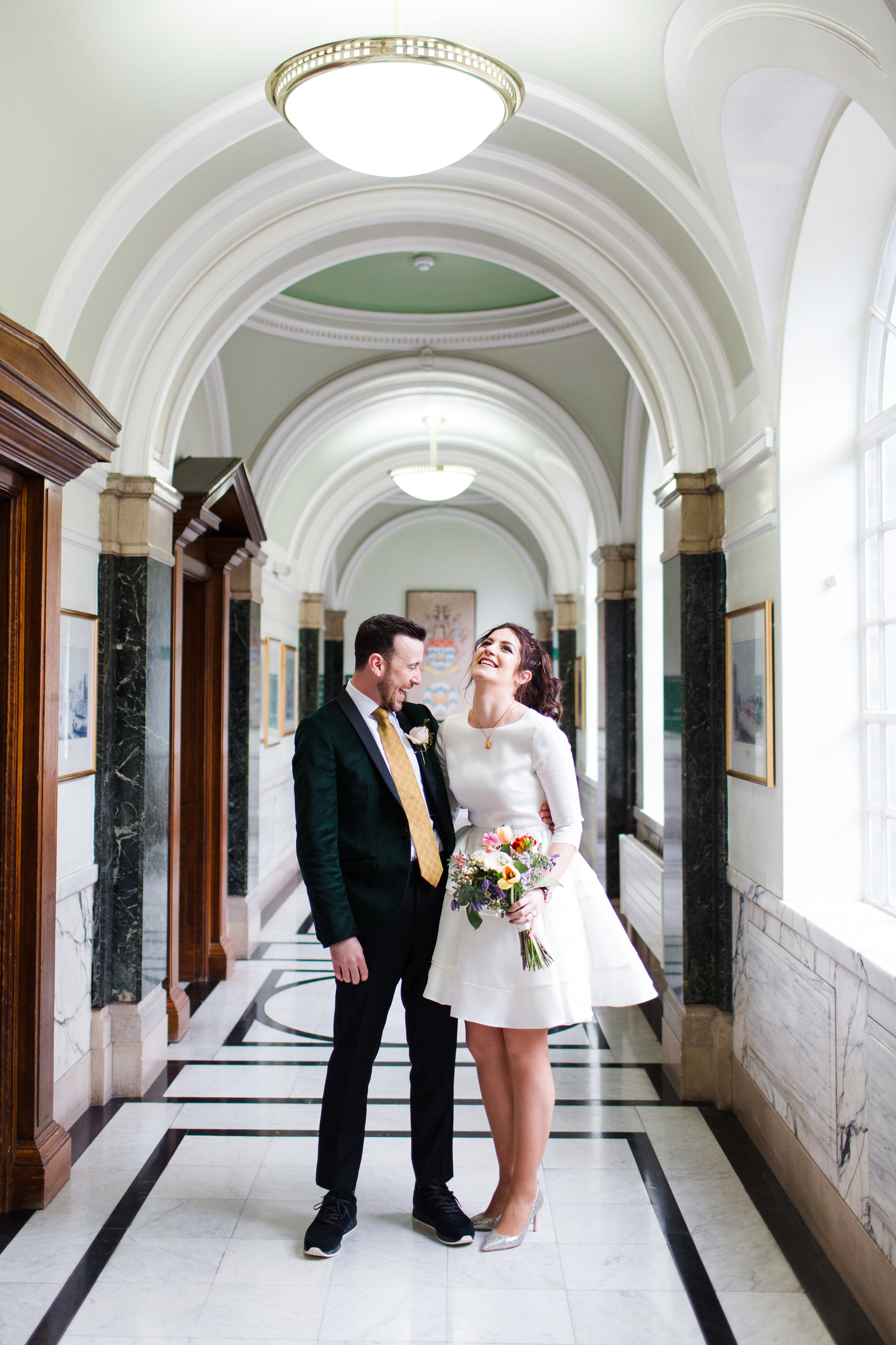 Islington Town Hall Wedding, London