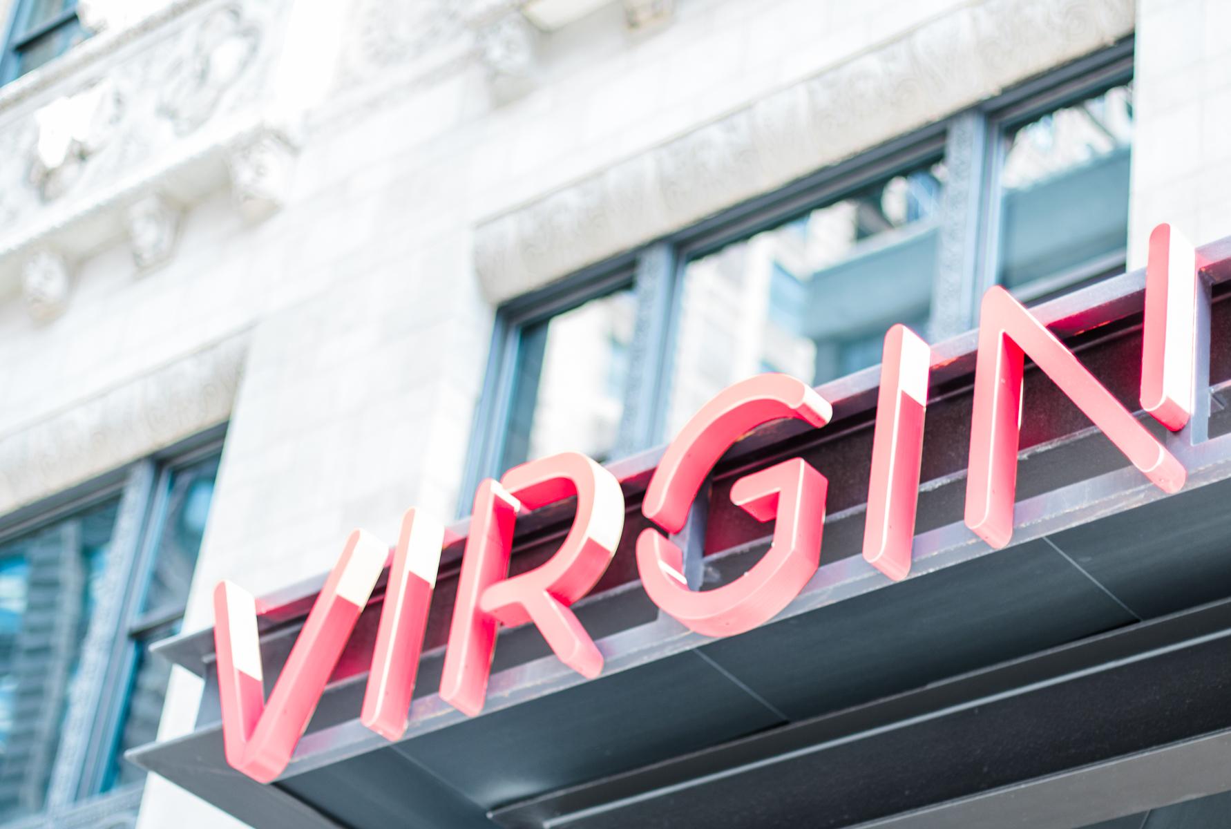 Virgin Hotel Photography