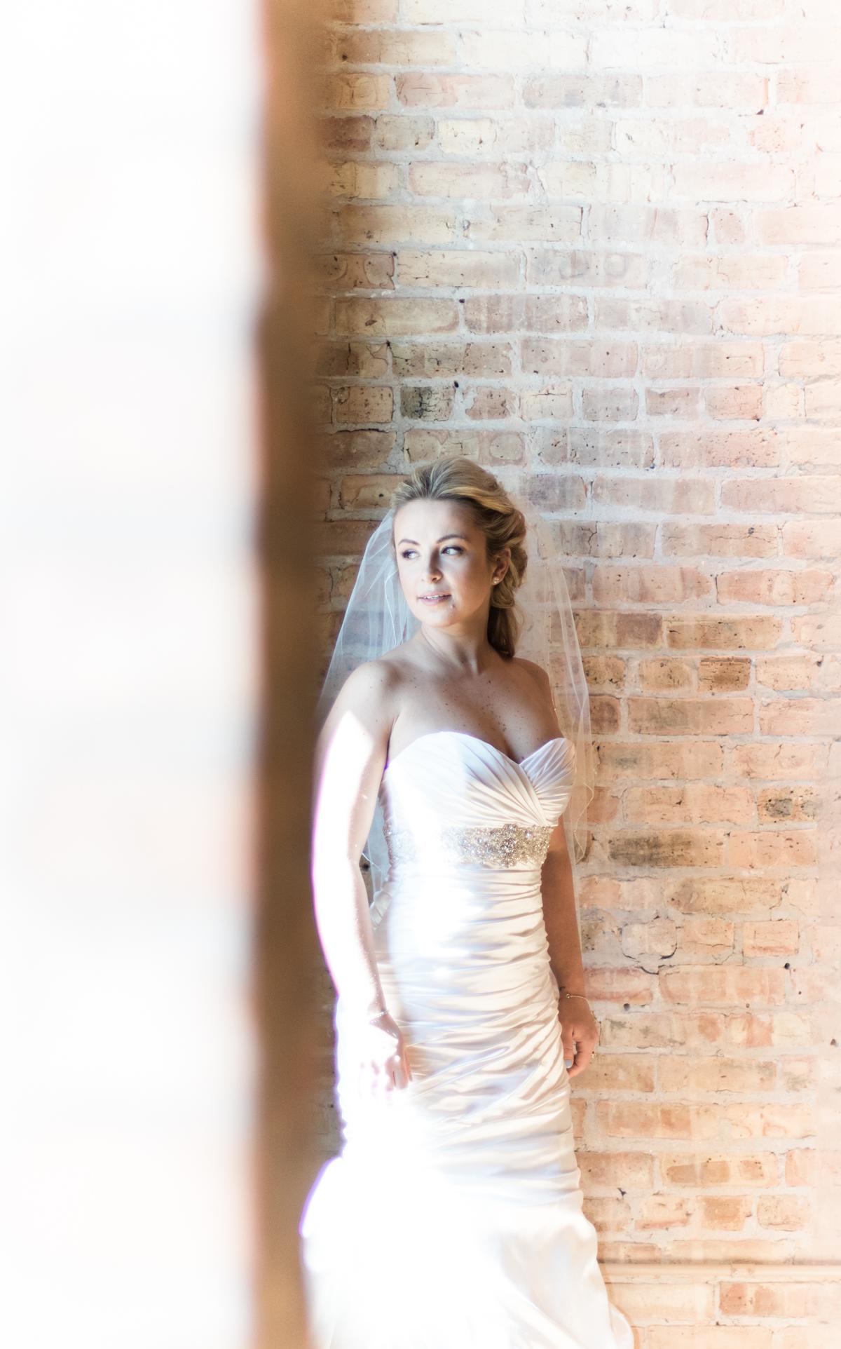 Pinstripes Wedding Photo