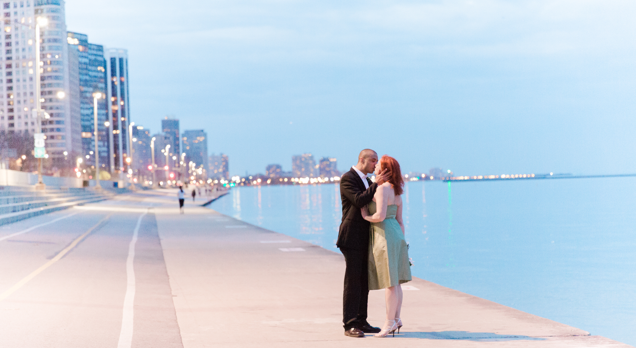 Chicago Elopement Photography by Bonphotage
