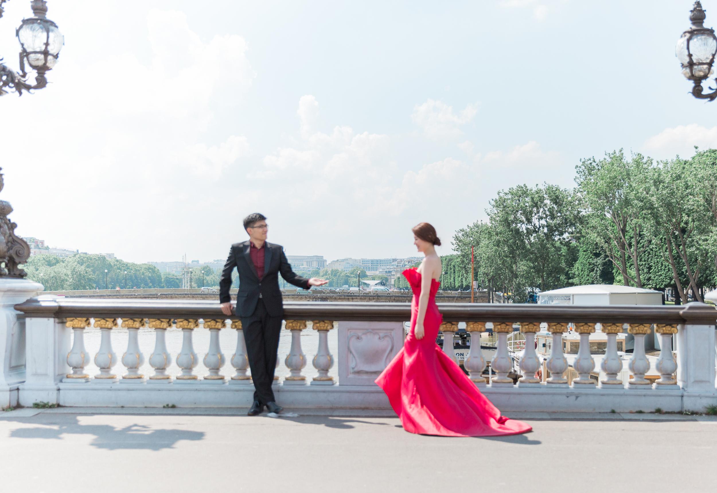 Paris France Engagement Photography