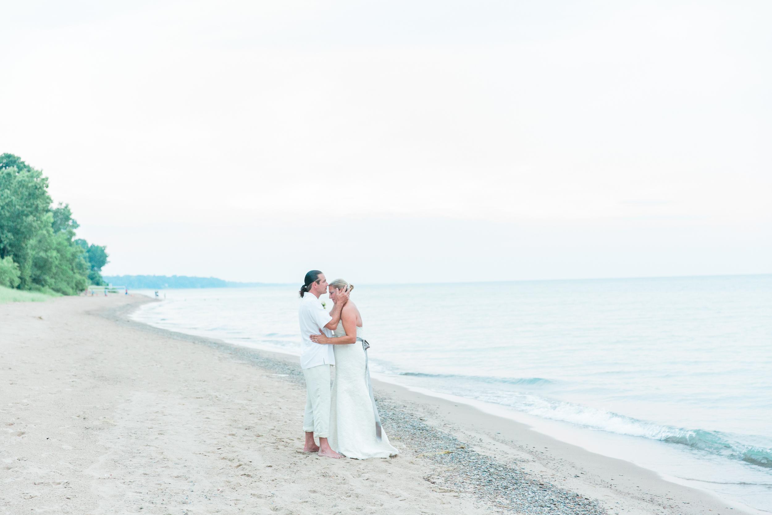 Bonphotage Lake Michigan Wedding Photography