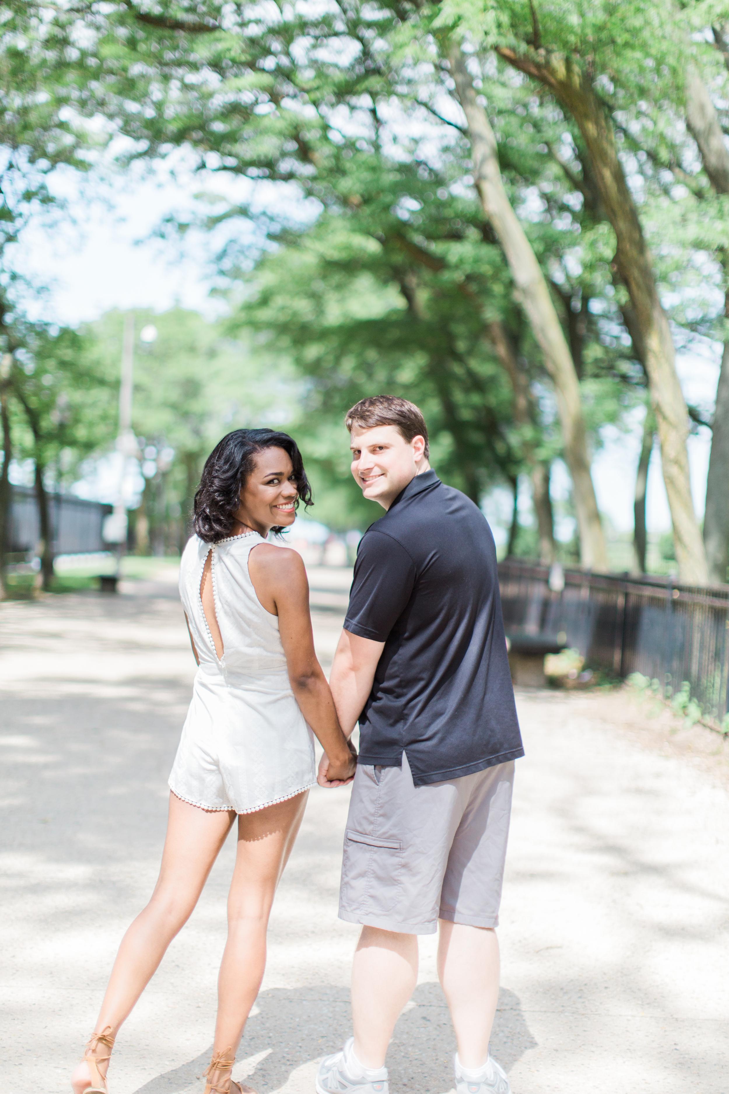 Olive Park Bonphotage Chicago Engagement Session