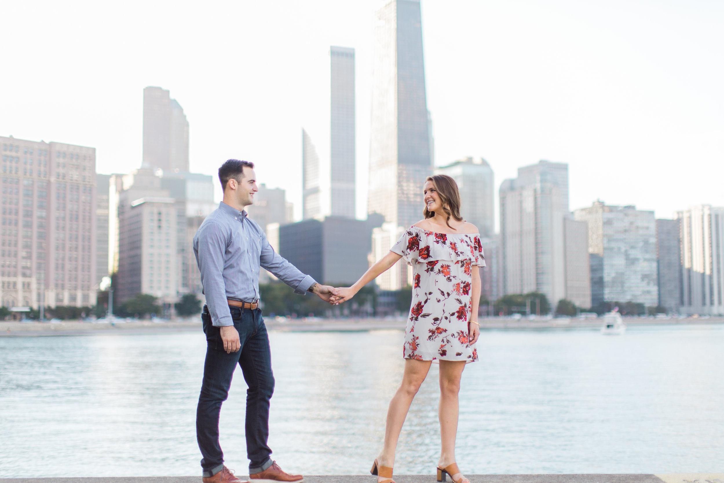 Bonphotage Milton Leee Olive Park Engagement Photograph