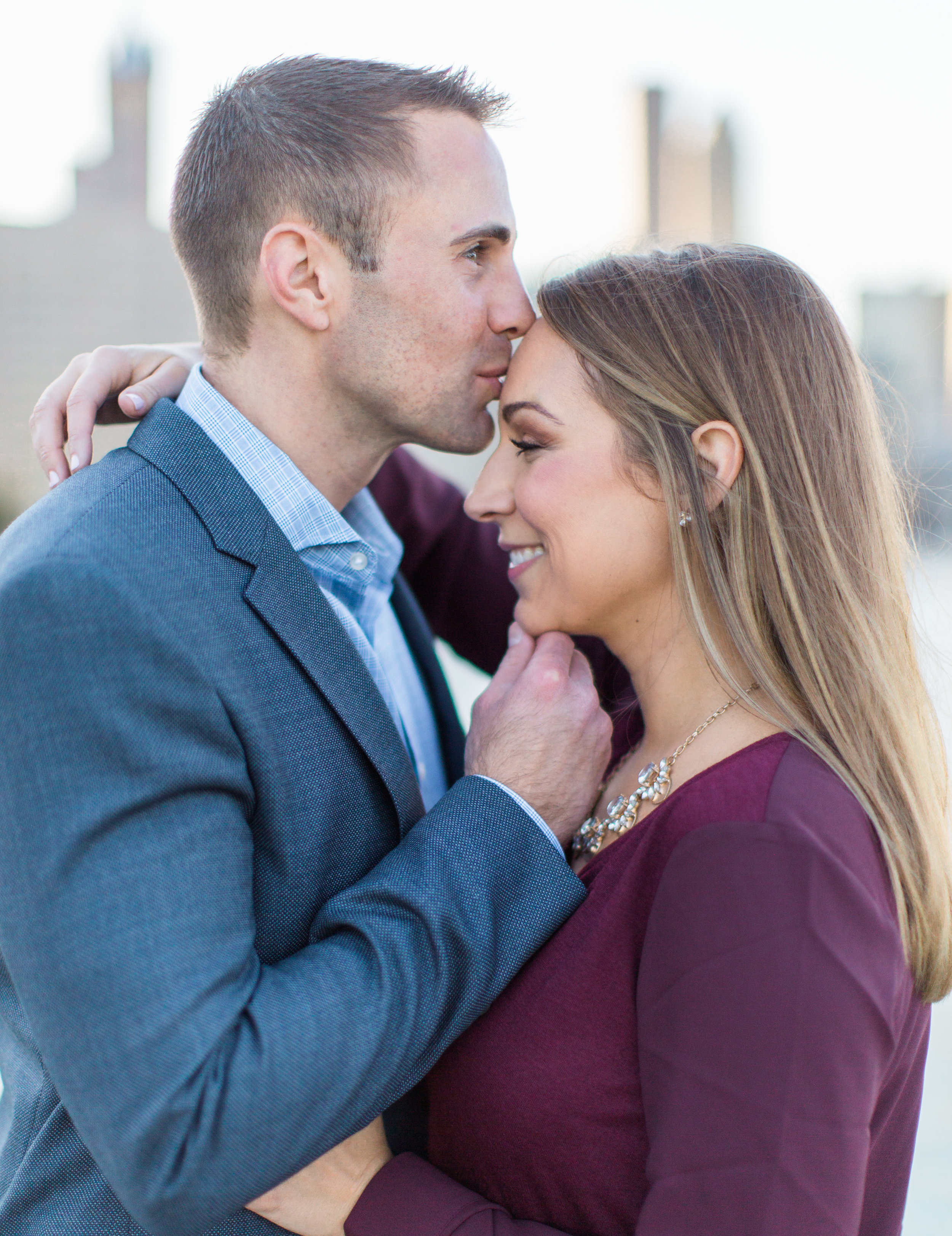Bonphotage Downtown Chicago Engagement Photography