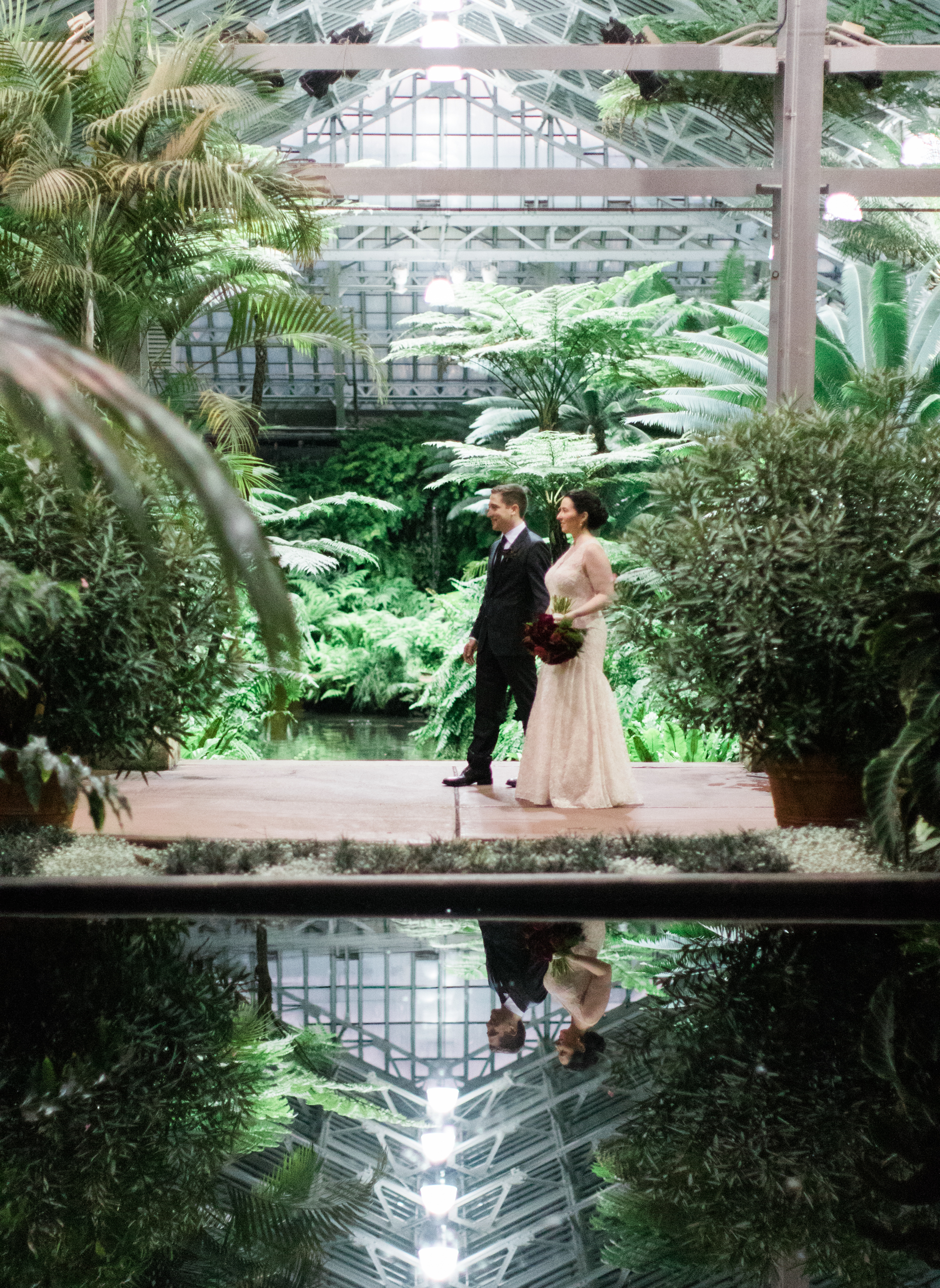 Bonphotage Garfield Conservatory Wedding Photography