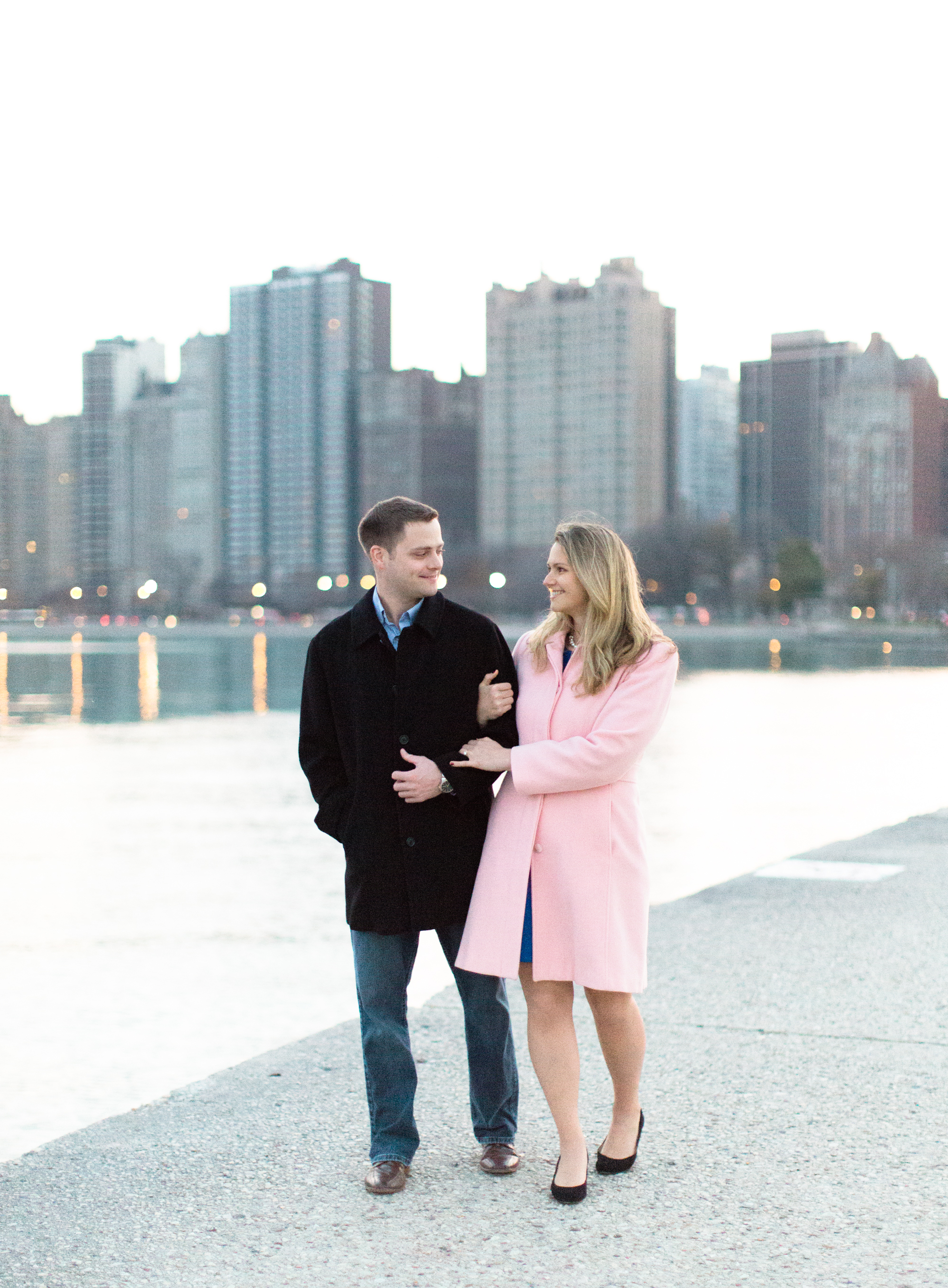Bonphotage Chicago Sunset Engagement Photography