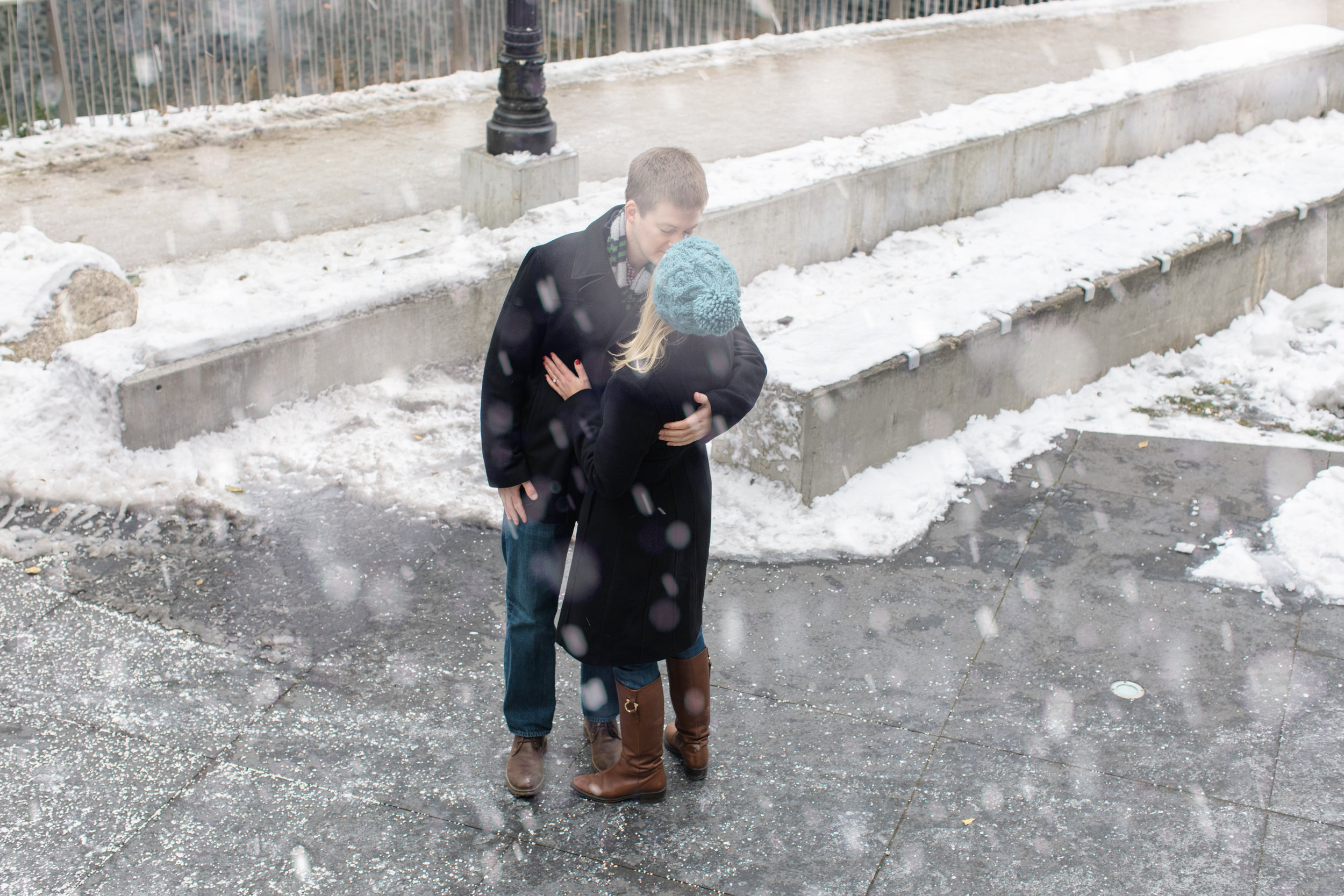Bonphotage Winter Chicago Engagement Photography