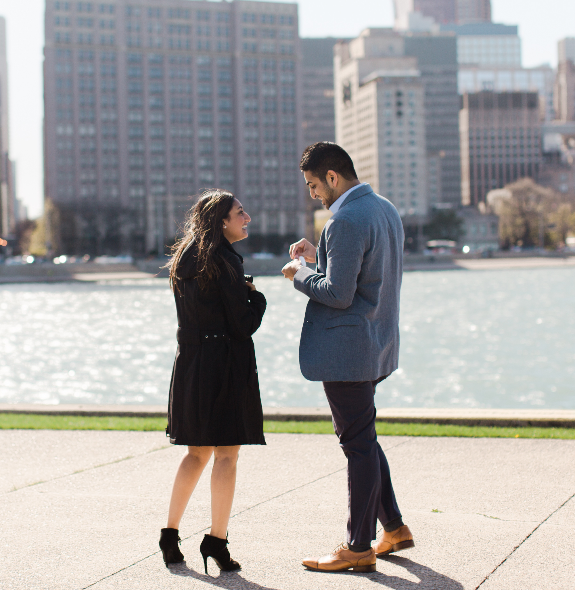 Bonphotage Chicago Proposal Photography