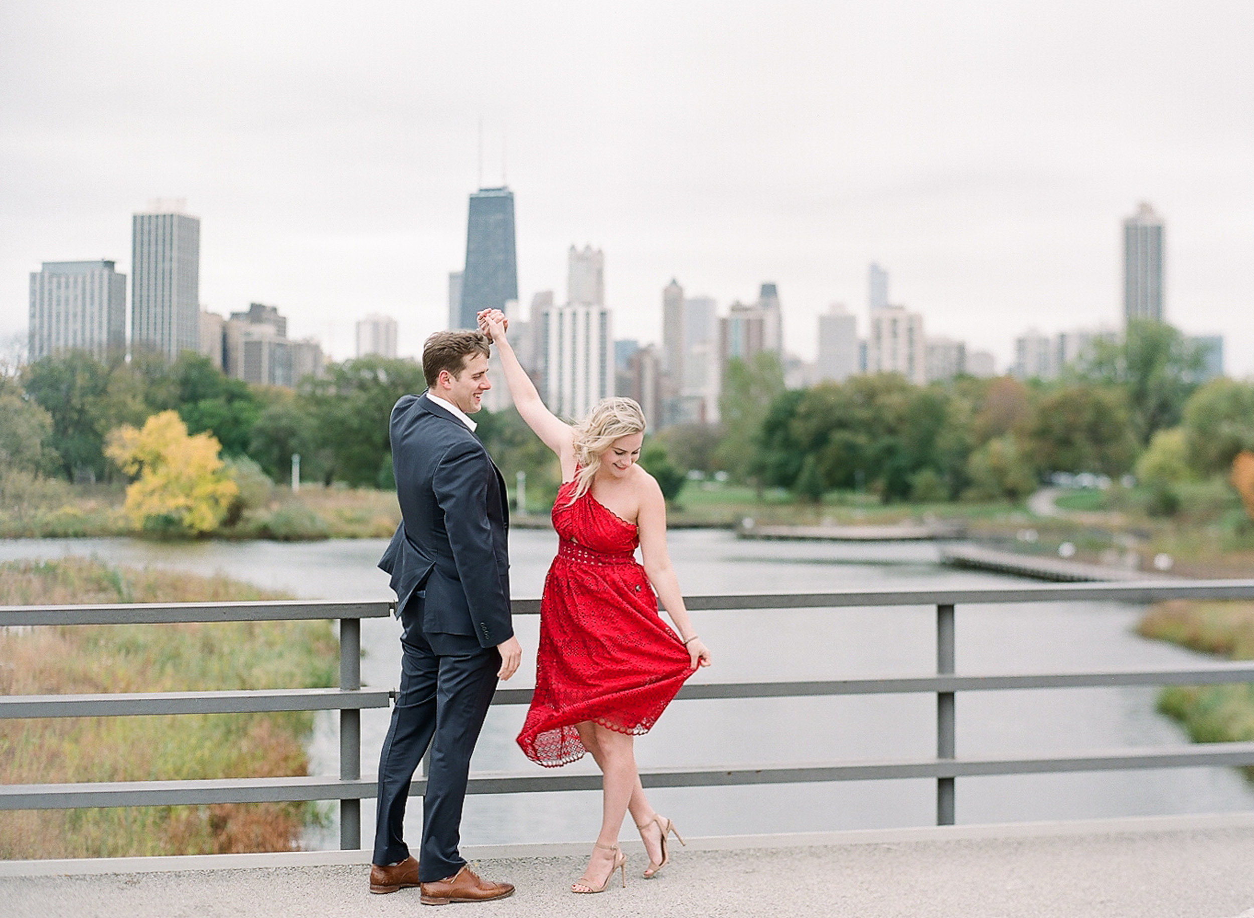 Bonphotage Chicago Fine Art Engagement Photography - Lincoln Park