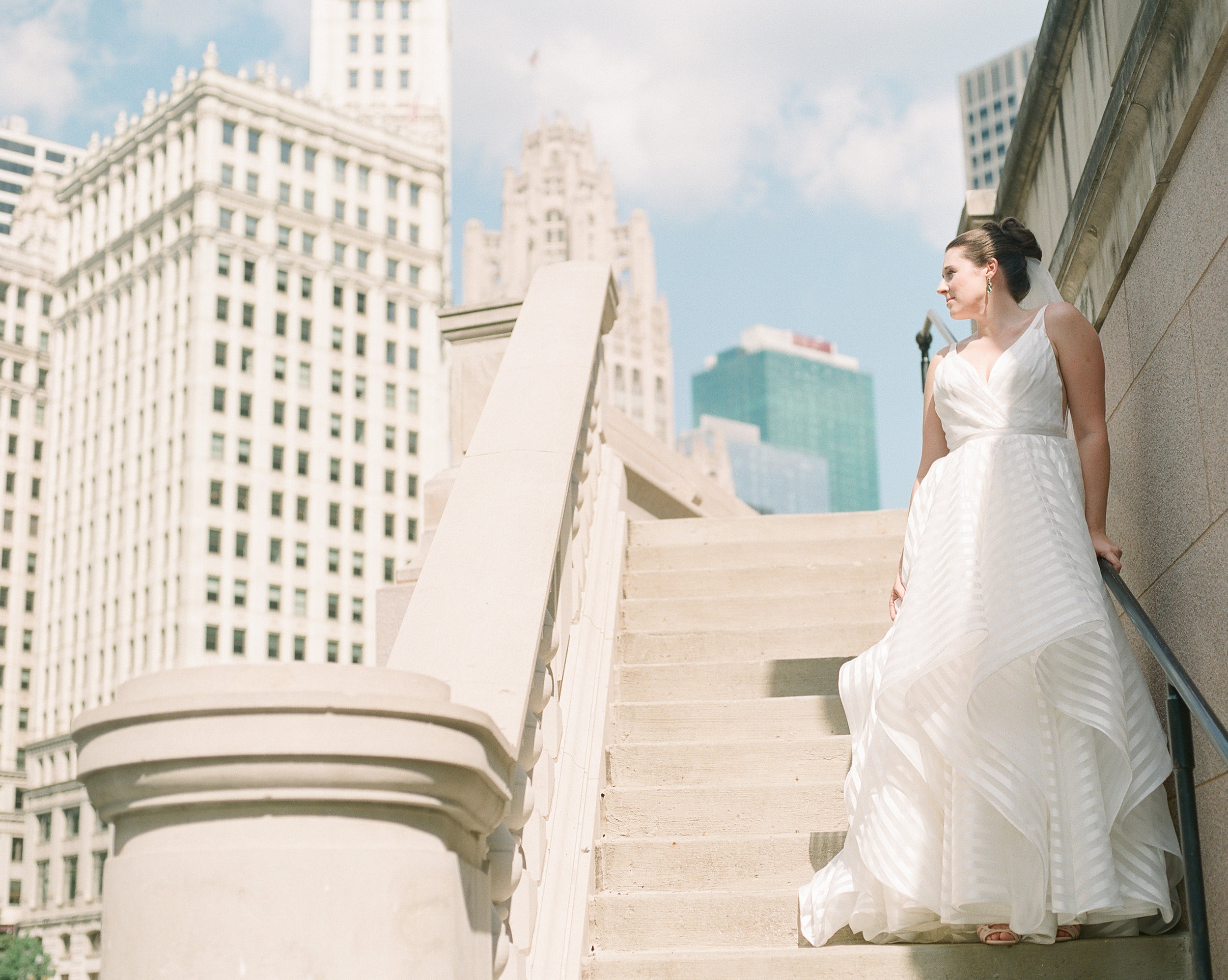 Bonphotage Chicago Fine Art Wedding Photography - London House Chicago