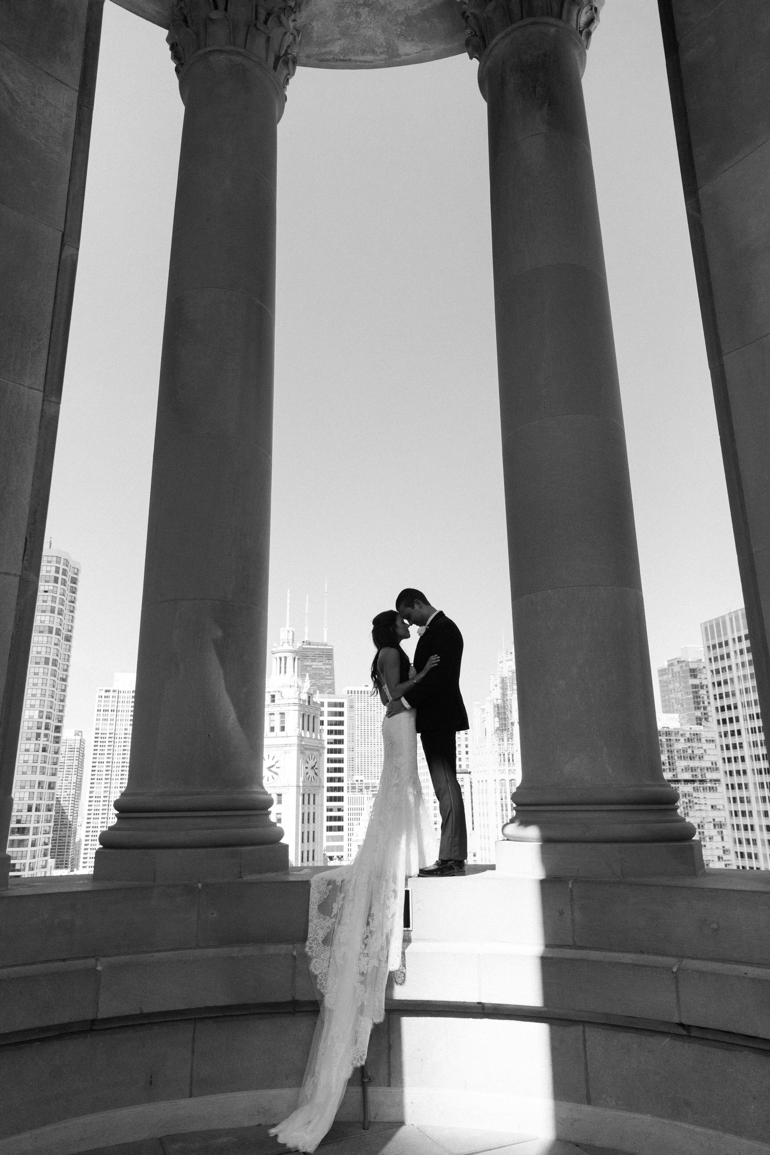 Chicago Fine Art Wedding Photography - London House