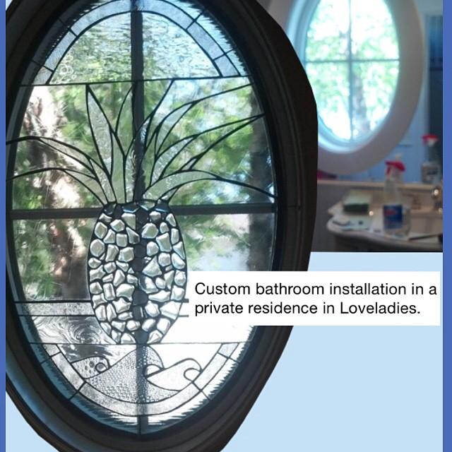 Custom bathroom installation in a private residence in Loveladies.