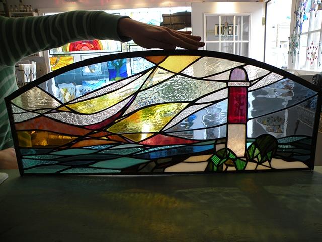 Barnegat Lighthouse - Transom Window