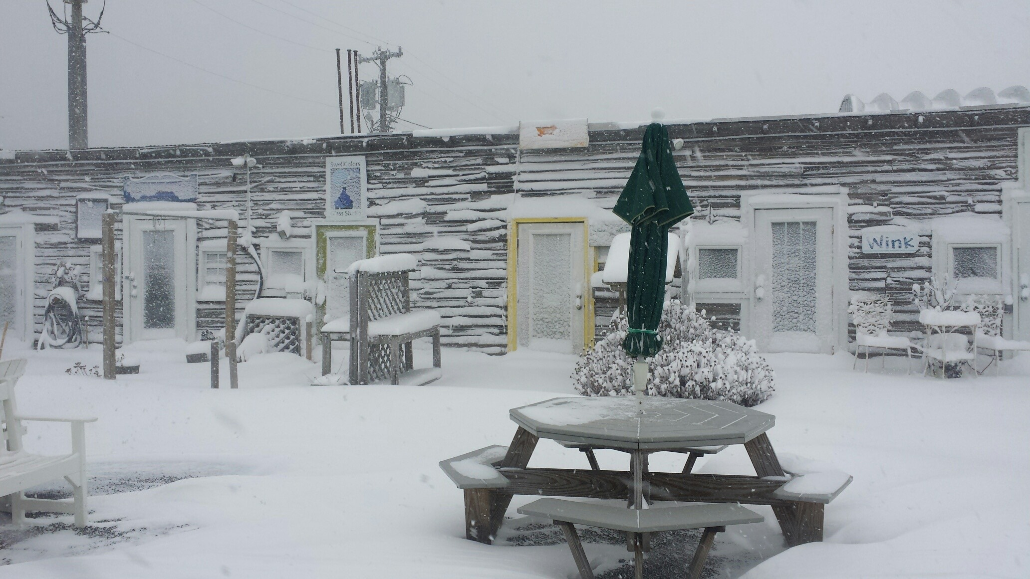 SwellColors North, in Viking Village in Barnegat Light. Makes you really want a cup of hot cocoa, doesn't it?