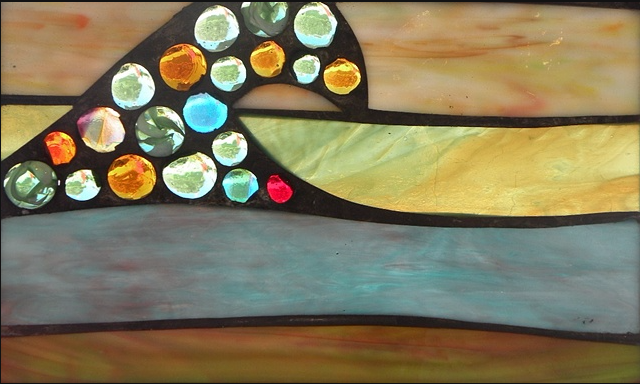 Stained Glass Collection.Winter Sol-2.23-Earth Wave