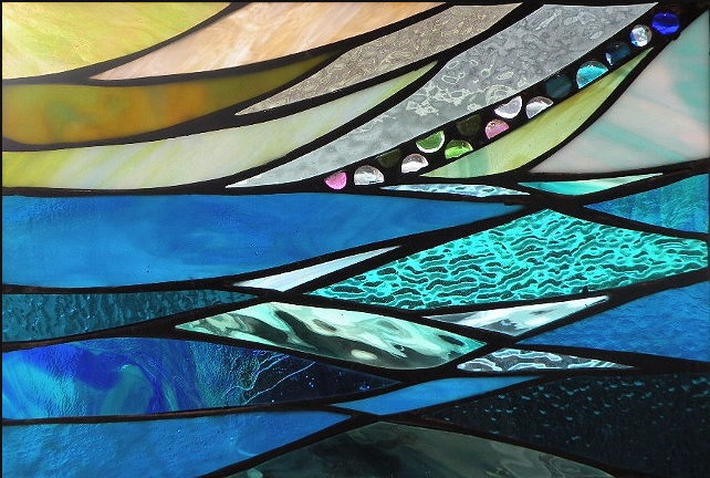 Stained Glass Collection.Winter Sol-3.5-WIndy