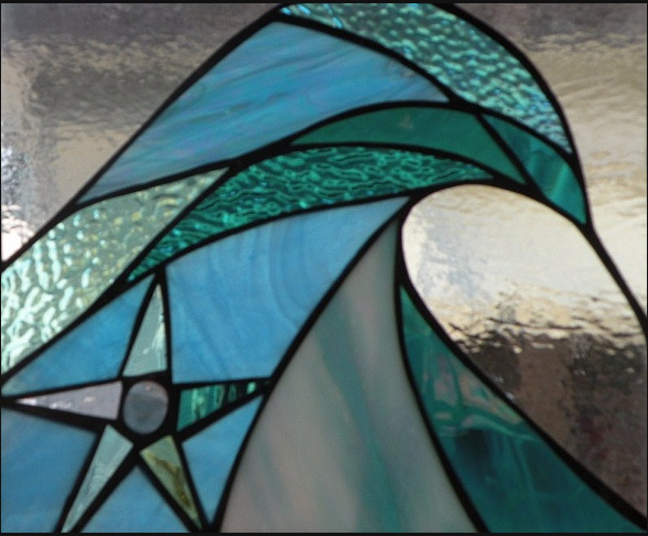 Stained Glass Collection.Winter Sol-3.9-South Swell