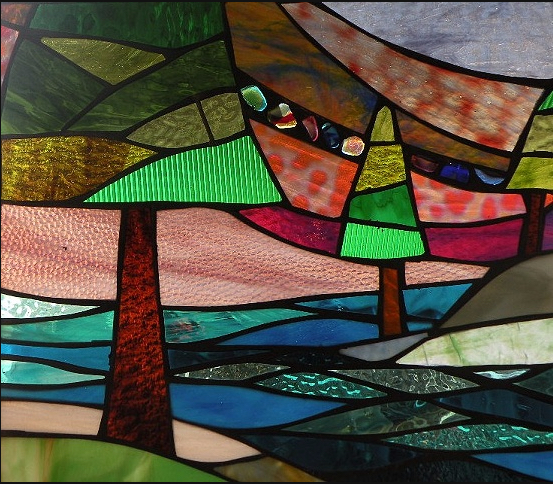Stained Glass Collection.Winter Sol-3.15-Tres Arboles