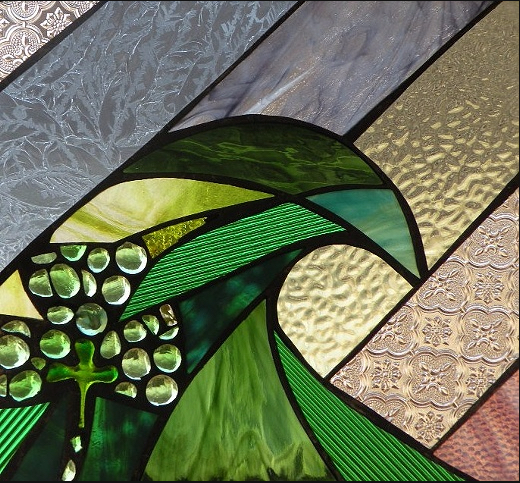 Stained Glass Collection.Winter Sol-3.17-St Pat