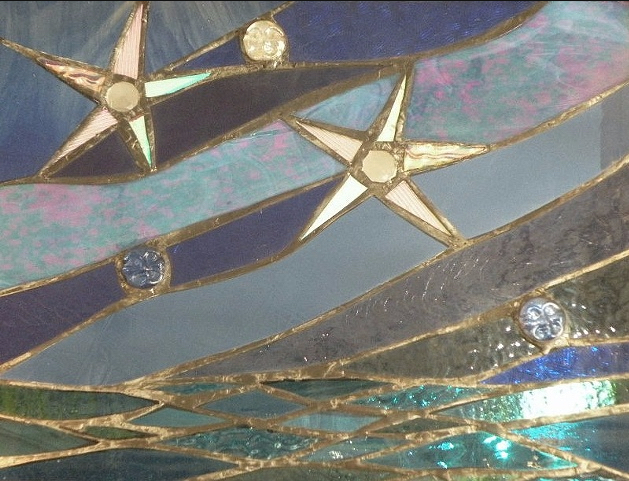 Stained Glass Collection.Primavera-3.29-Night Wanderings