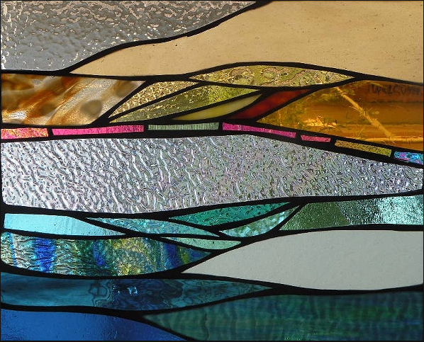 """Primavera Stained Glass Collection. April 3rd: """"Reflections"""""""