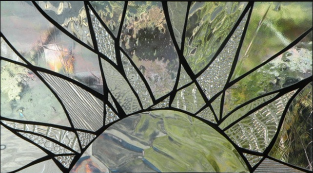 Primavera Stained Glass Window April 9 Happiness