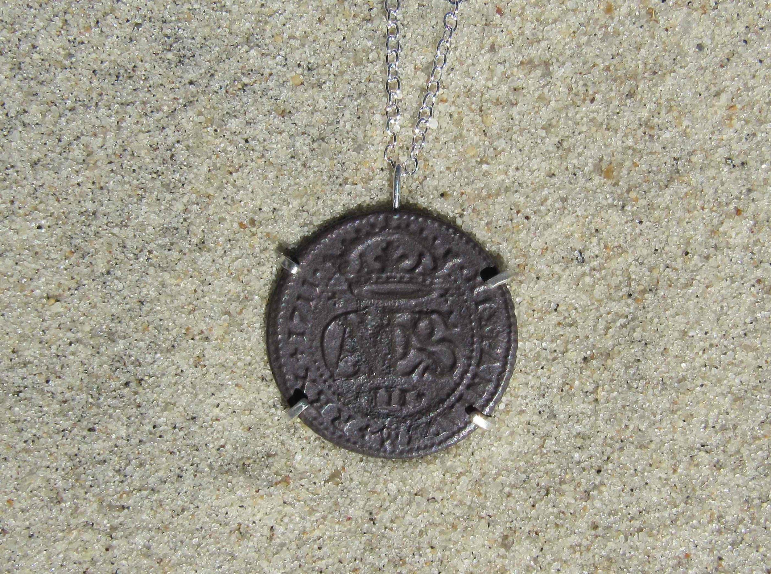 Found Spanish Coin Set in Silver