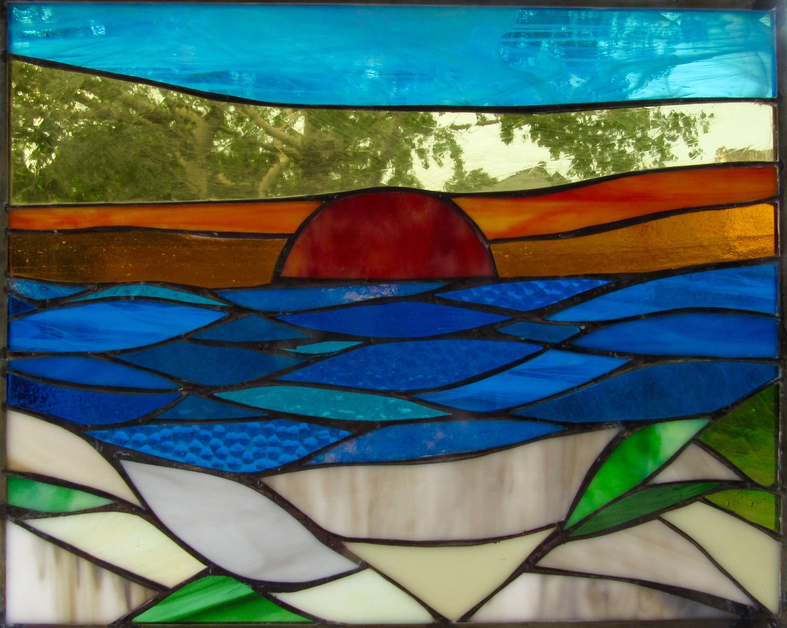 Stained Glass Collection. Origin-5.3 - May Sunrise