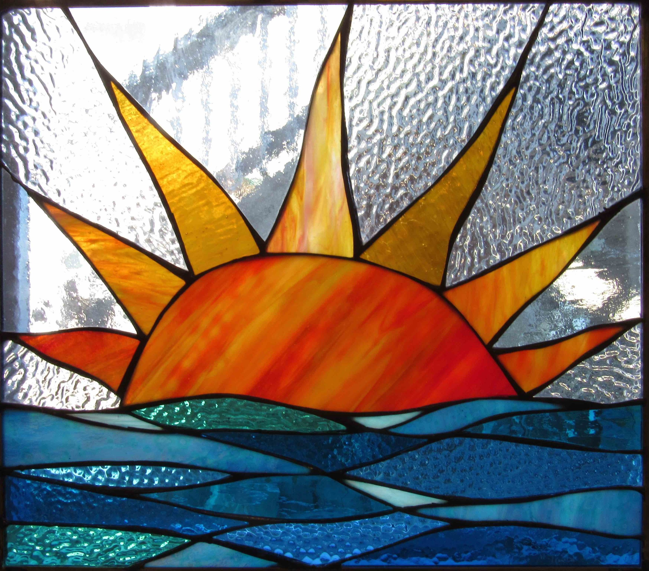 Stained Glass Collection. Origin-5.6 - Rising Tide