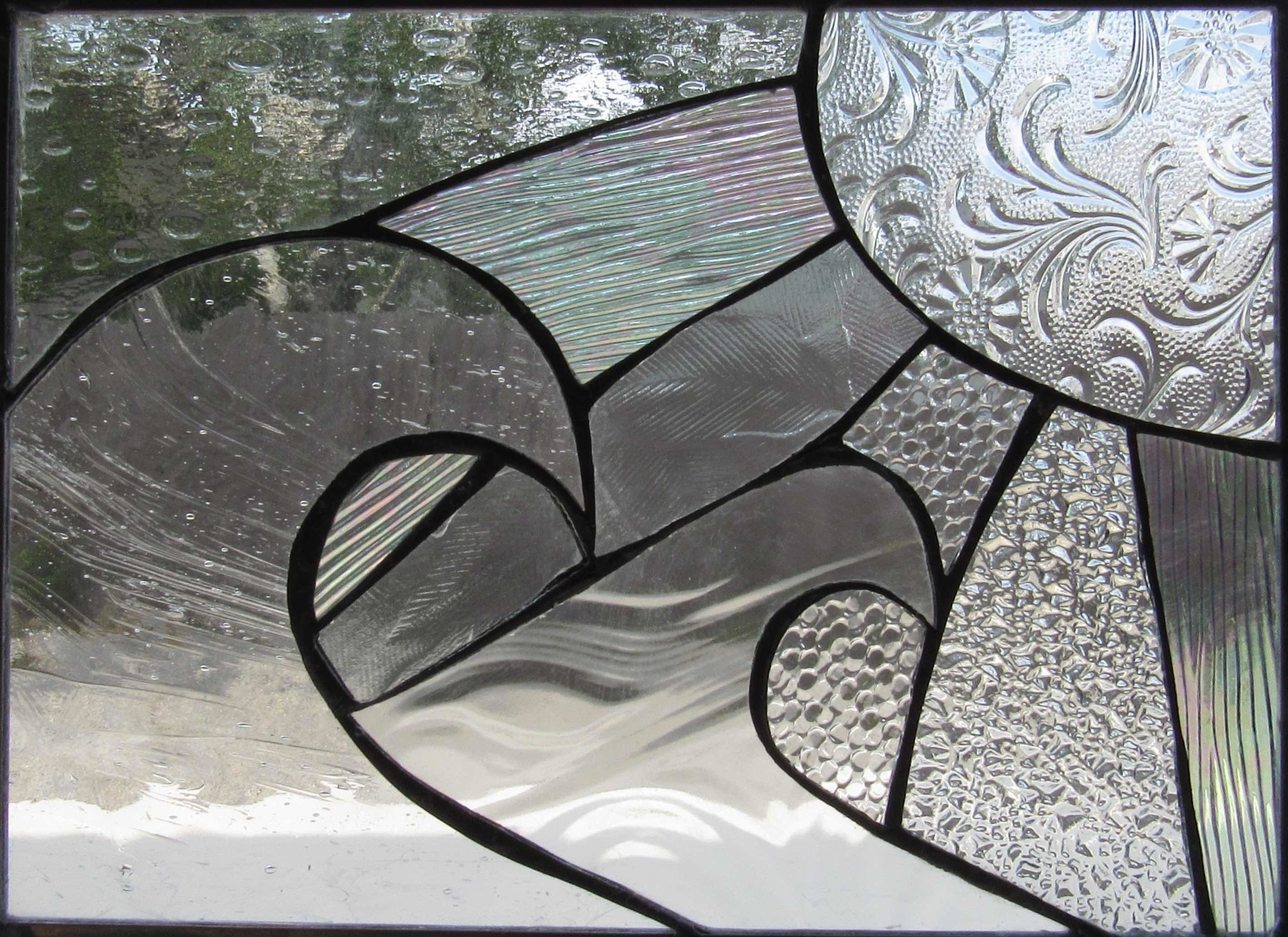 Stained Glass Collection. Origin-5.7 - Two Friends In The Sun