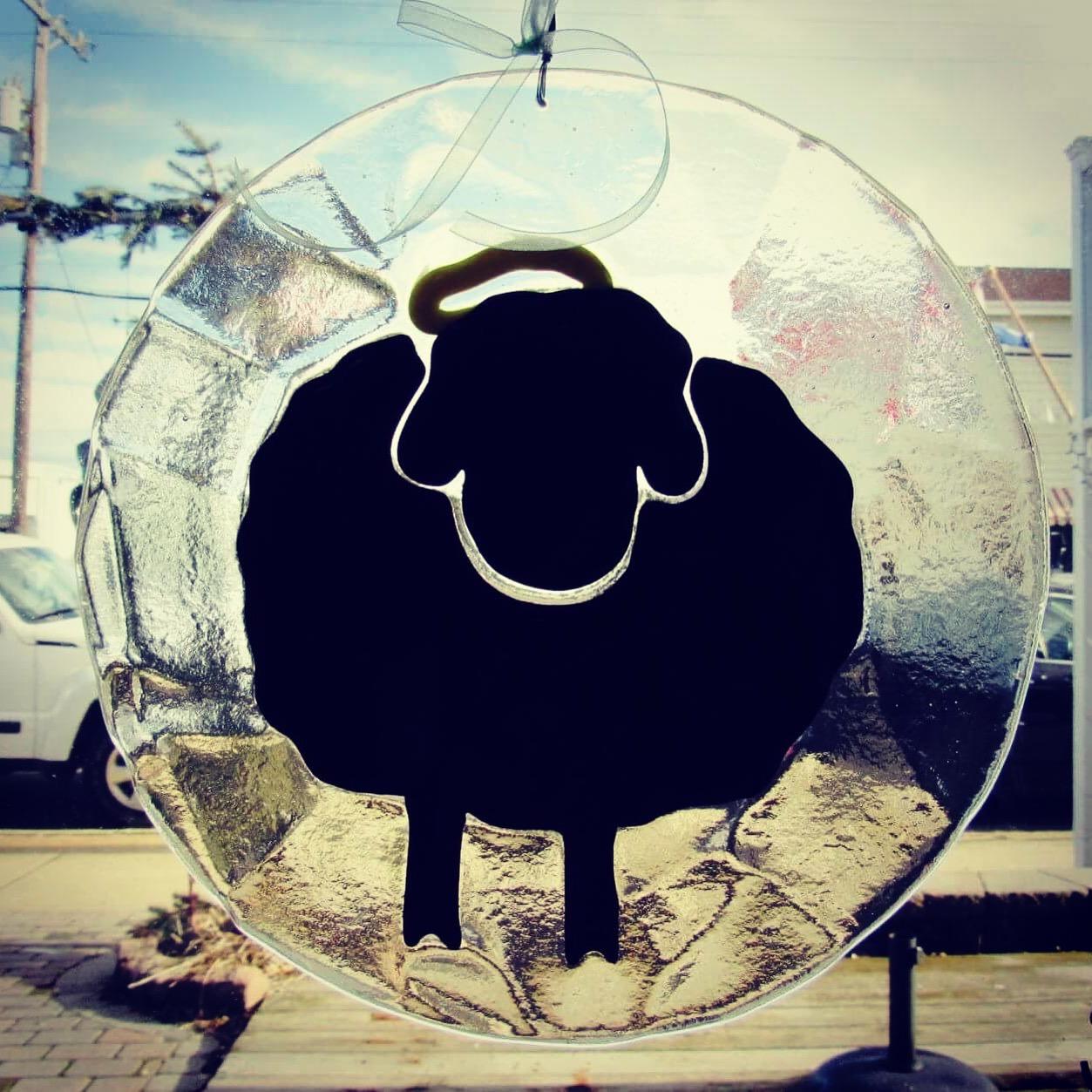 Custom Lightcatcher made for  Black Sheep Studios  in Haven Beach.
