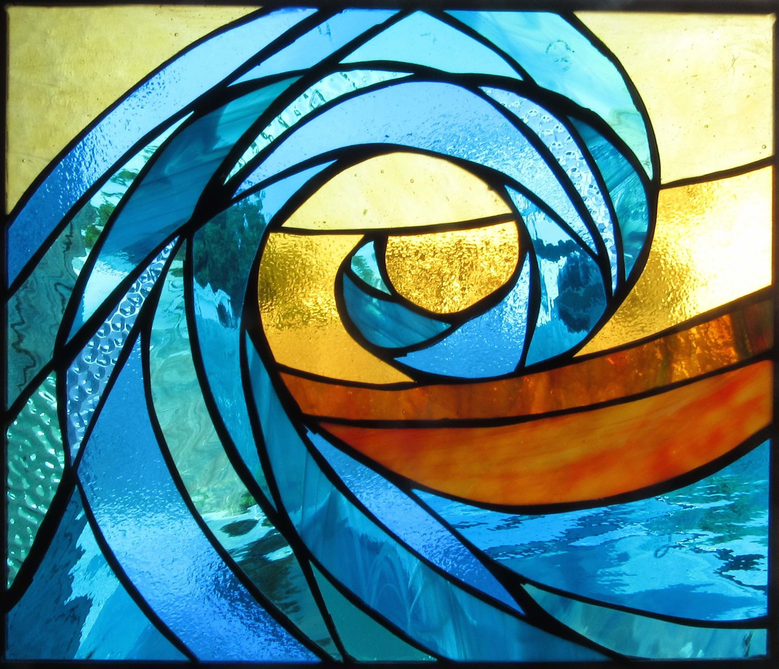 We have hundreds of stained glass waves!