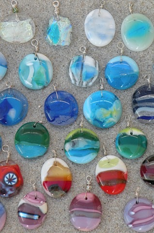 Fused Glass Bead Making - You will love making these unique and colorful focal pendant beads that all your friends and family will want! Make up to 9 fused glass beads. Pick up 1-2 days later. This is a walk-in class.Cost is $50 per person.Cost includes tools, materials, and instruction. Available for all ages.Price is per person unless helping a small child.No pre-registration required.