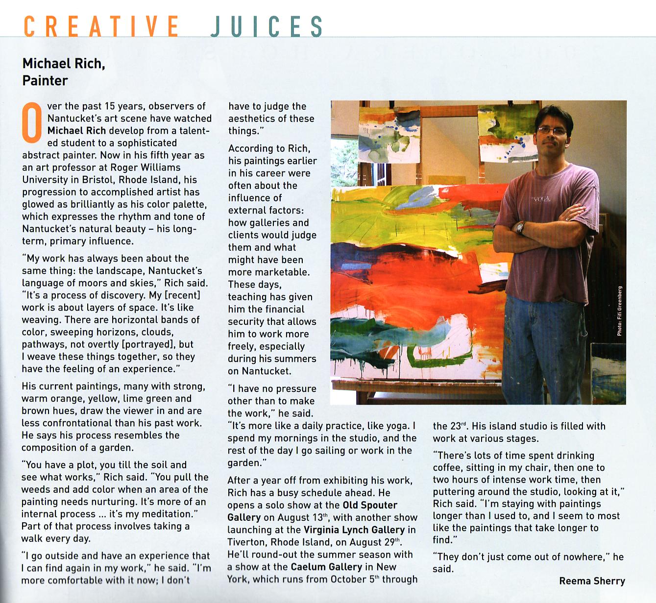 N Magazine, 2004