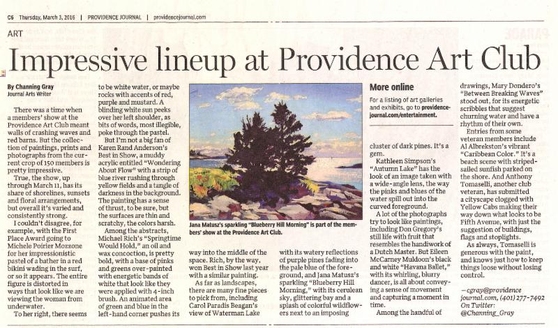 The Providence Journal, March 3, 2016
