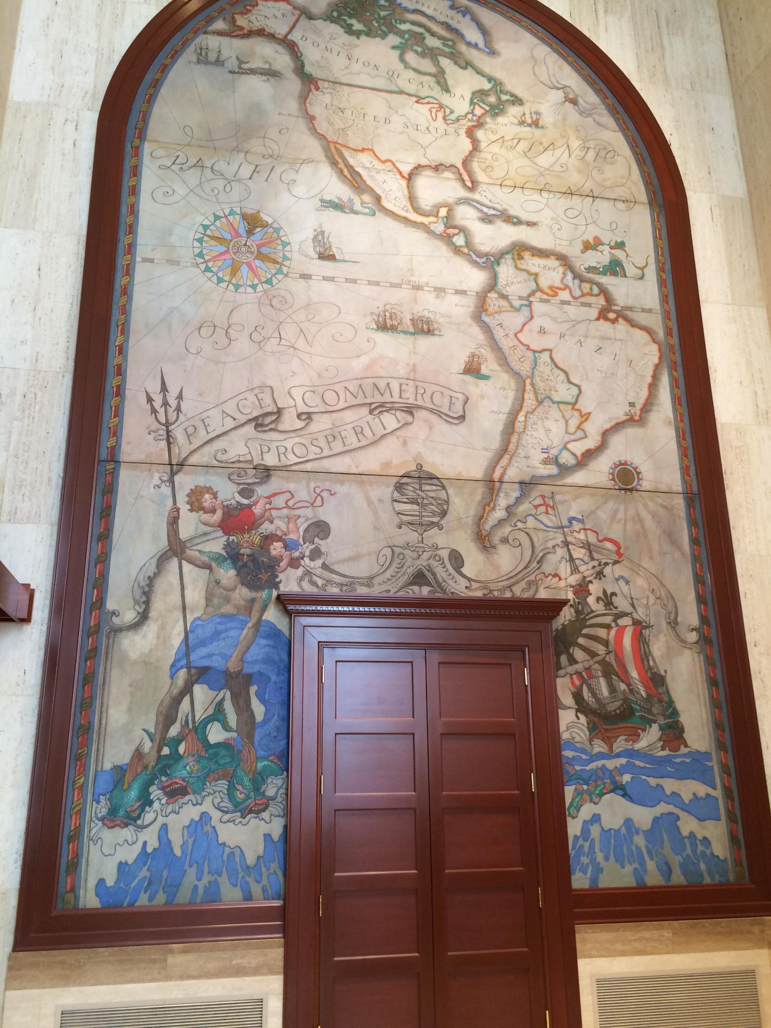 mural by N.C. Wyeth