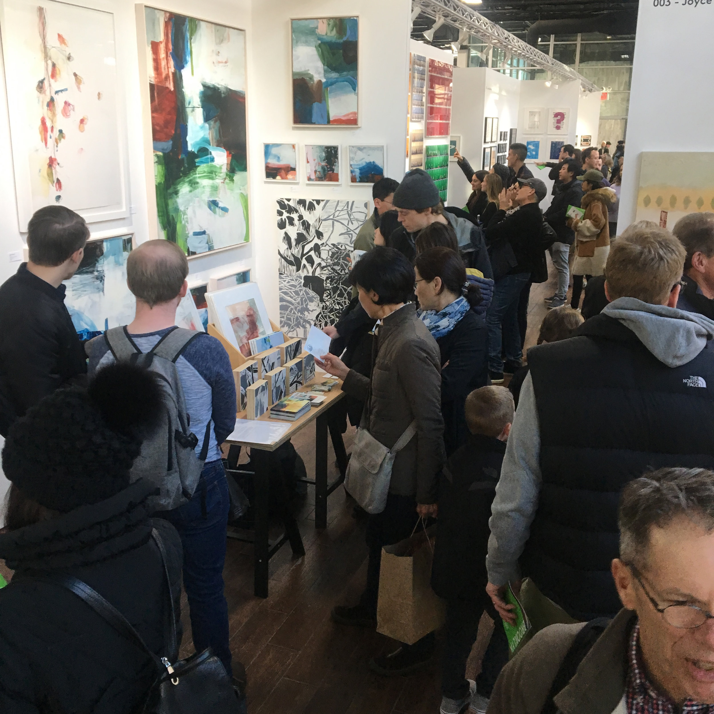 Michael Rich at the Other Art Fair, NY, June 2017