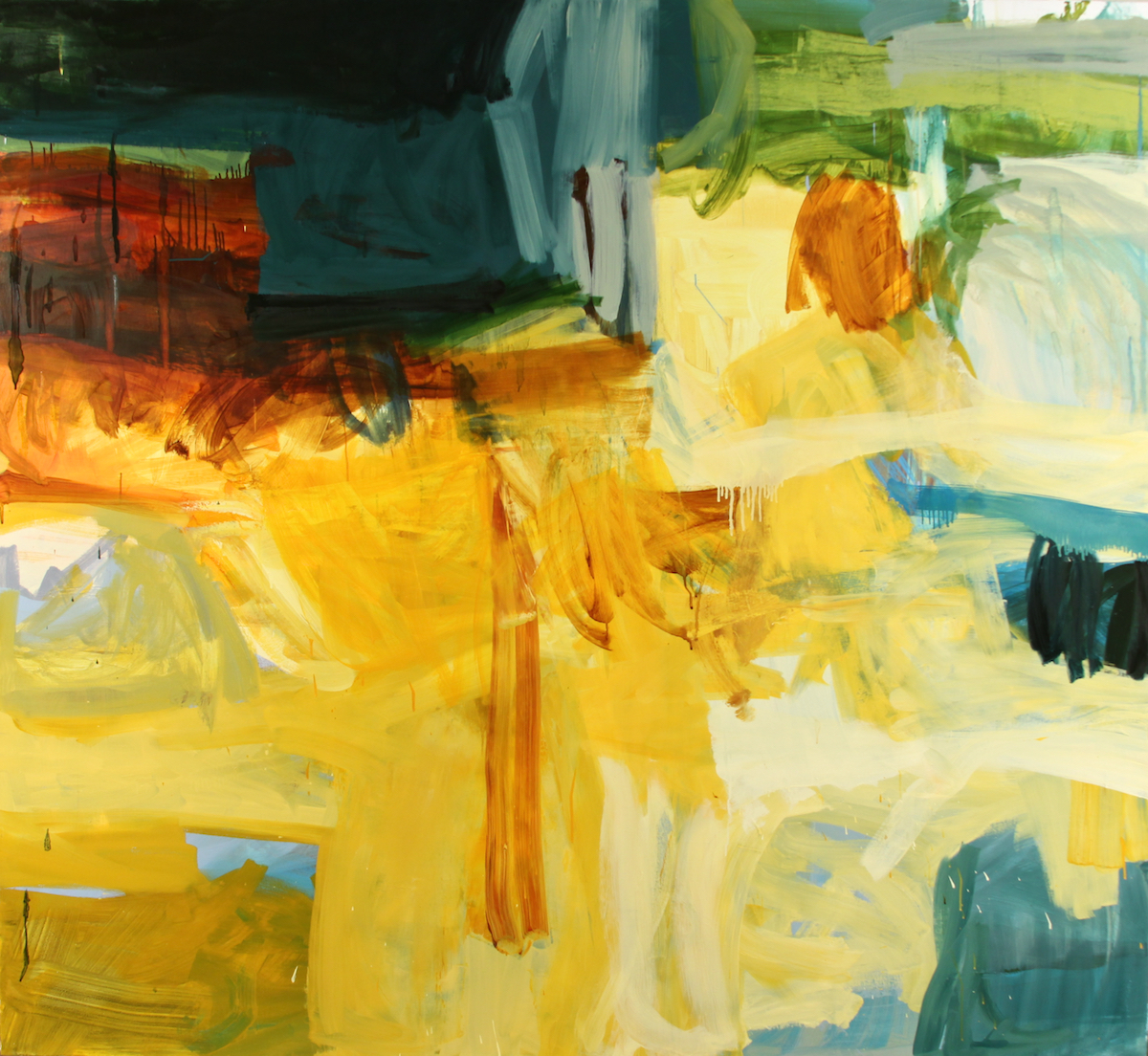 The Desert Places', oil on canvas,    Michael Rich
