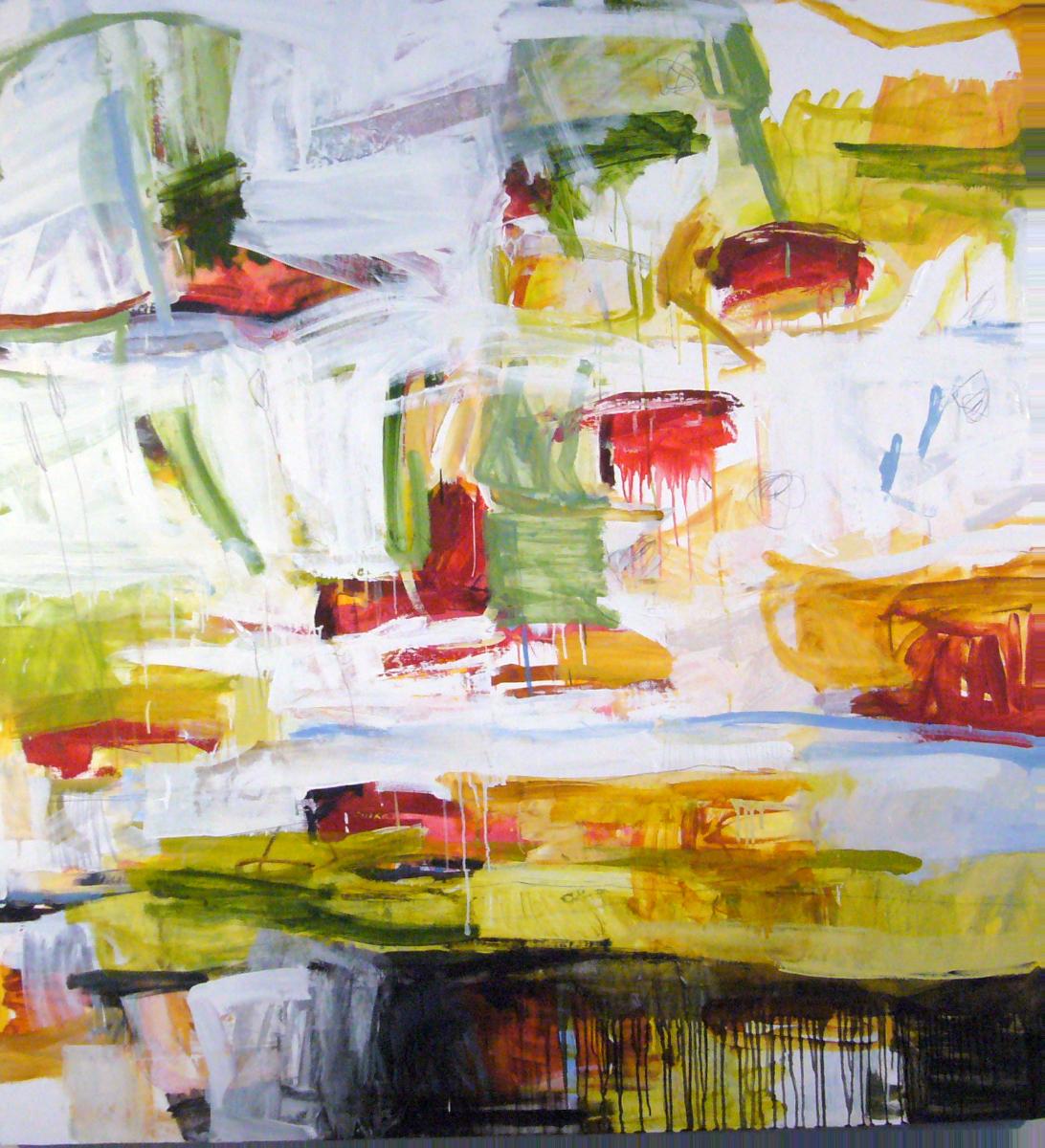 'Slipstream', oil on canvas,    Michael Rich