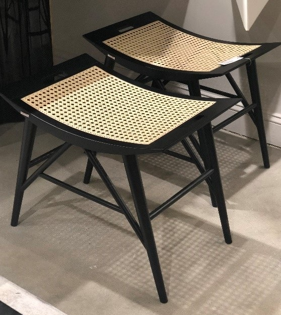 stephaniekrausdesigns-pa-mainline-interior-design-trends-2019-woven-wood-caning-benches