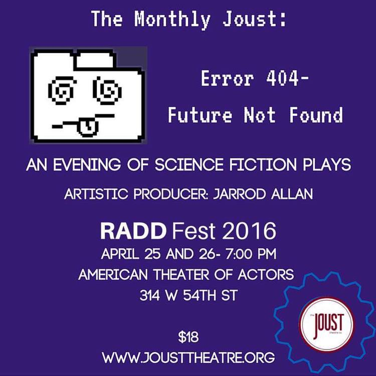Error 404- Future Not Found