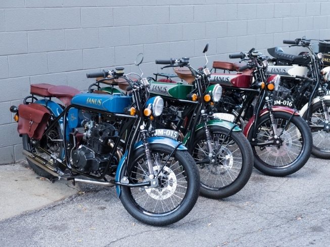 Part one: Small bikes -