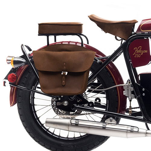 Pillion, Book Rack, & Saddlebags