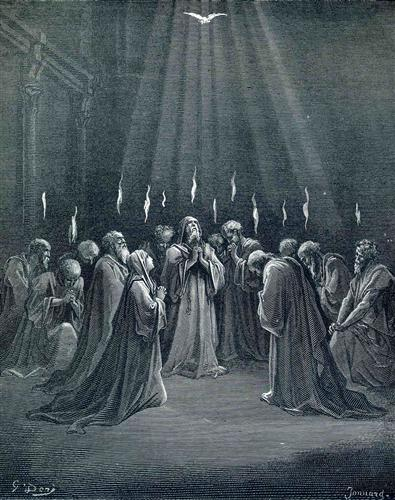 Gustave Dore, The Descent of the Holy Spirit