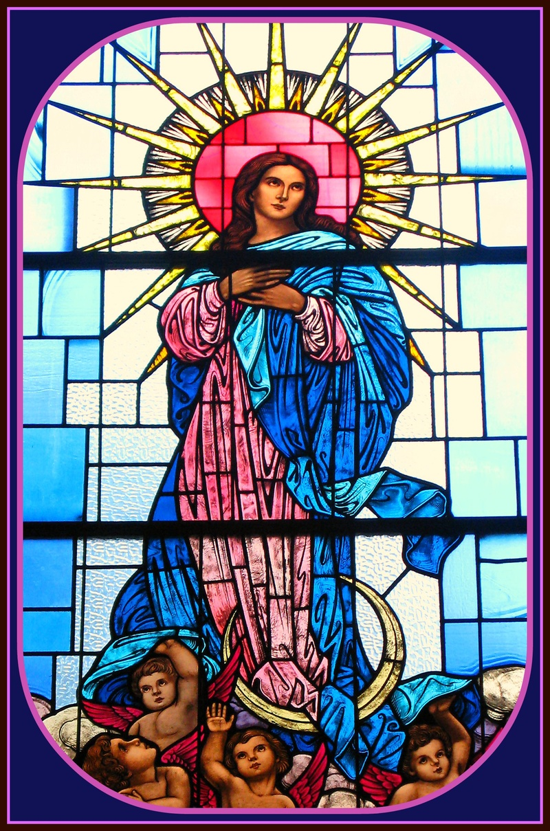 Star of Heaven - Woman with Star above her head and moon beneathe her feet.jpg