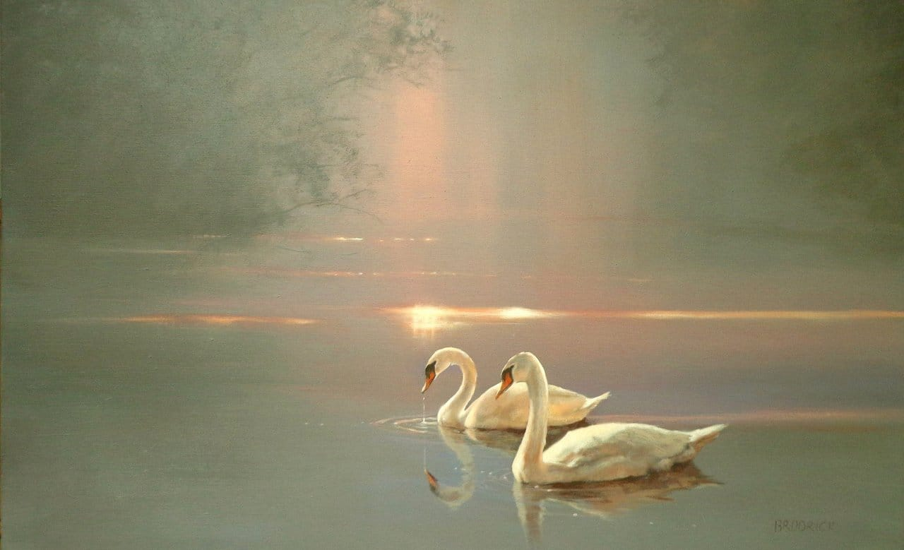 """The Swan ~ an esoteric symbol for """"the Initiate"""""""