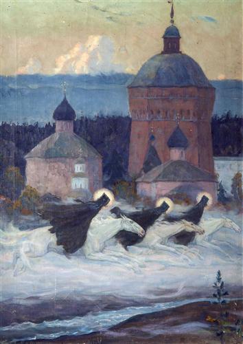 Riders, 1932 Mikhail Nesterov.jpg